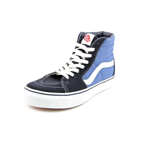 71bc25b582 Vans - Vans Sk8-Hi Round Toe Canvas Skate Shoe - Walmart.com