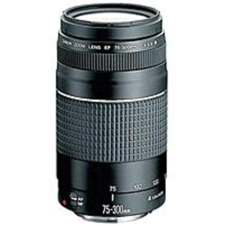 Canon EF 75-300mm f/4-5.6 III Telephoto Zoom (Lens For Men)