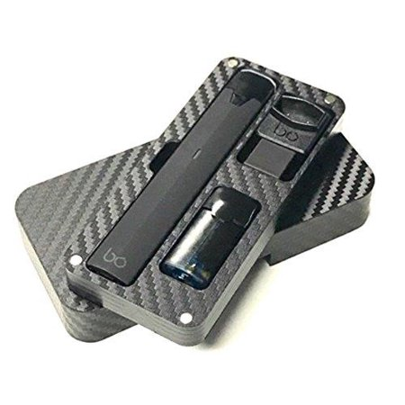 BO Vape Pod Mod Black travel case stand by Jwraps