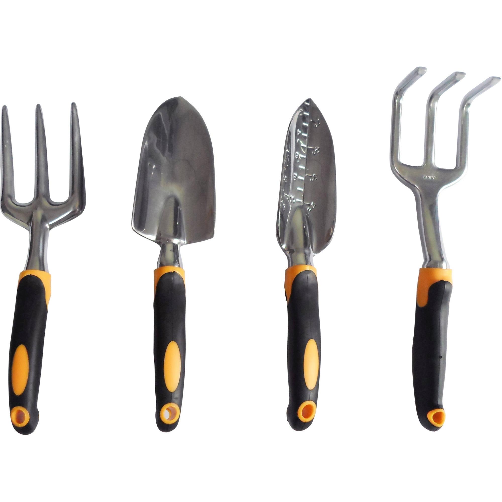 GardenHOME Ergonomic and Durable 4-Piece Garden Tool Set by Aspectek