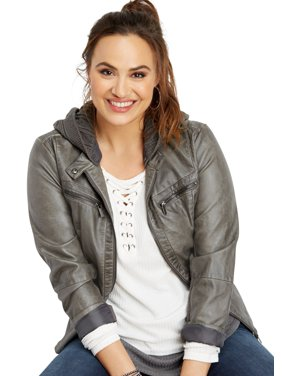 ead22781f22 Product Image Plus Size Waffle Grommet Lace Up Tee. maurices