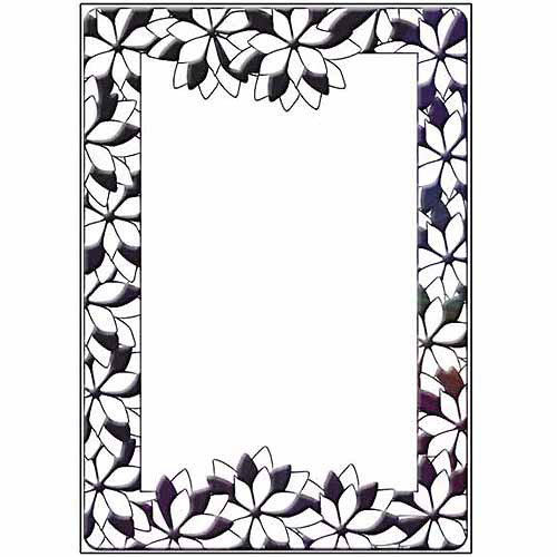 """Crafts-Too Embossing Folder 4""""X6""""-Baubles"""