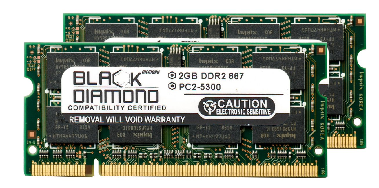 A1A2J3E518B30001 1GB DDR2-667 RAM Memory Upgrade for The Fujitsu LIFEBOOK Tablet PC T4220 PC2-5300