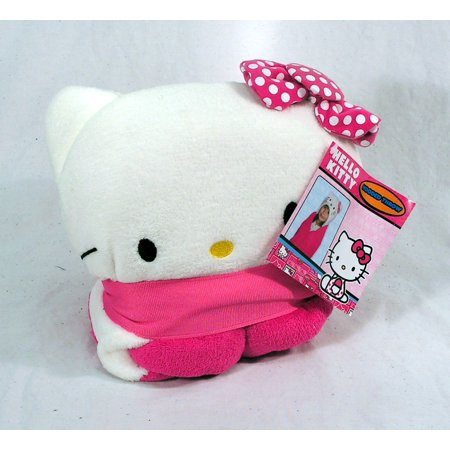 Hello Kitty Throw (Sanrio Hello Kitty Hold Me 40x50 Hooded Throw)