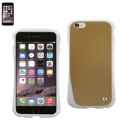 REIKO IPHONE 6 DROPPROOF AIR CUSHION CASE WITH CHAIN HOLE IN GOLD