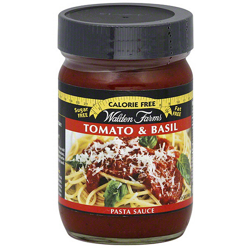 Walden Farms Tomato & Basil Pasta Sauce, 12 oz (Pack of 6)