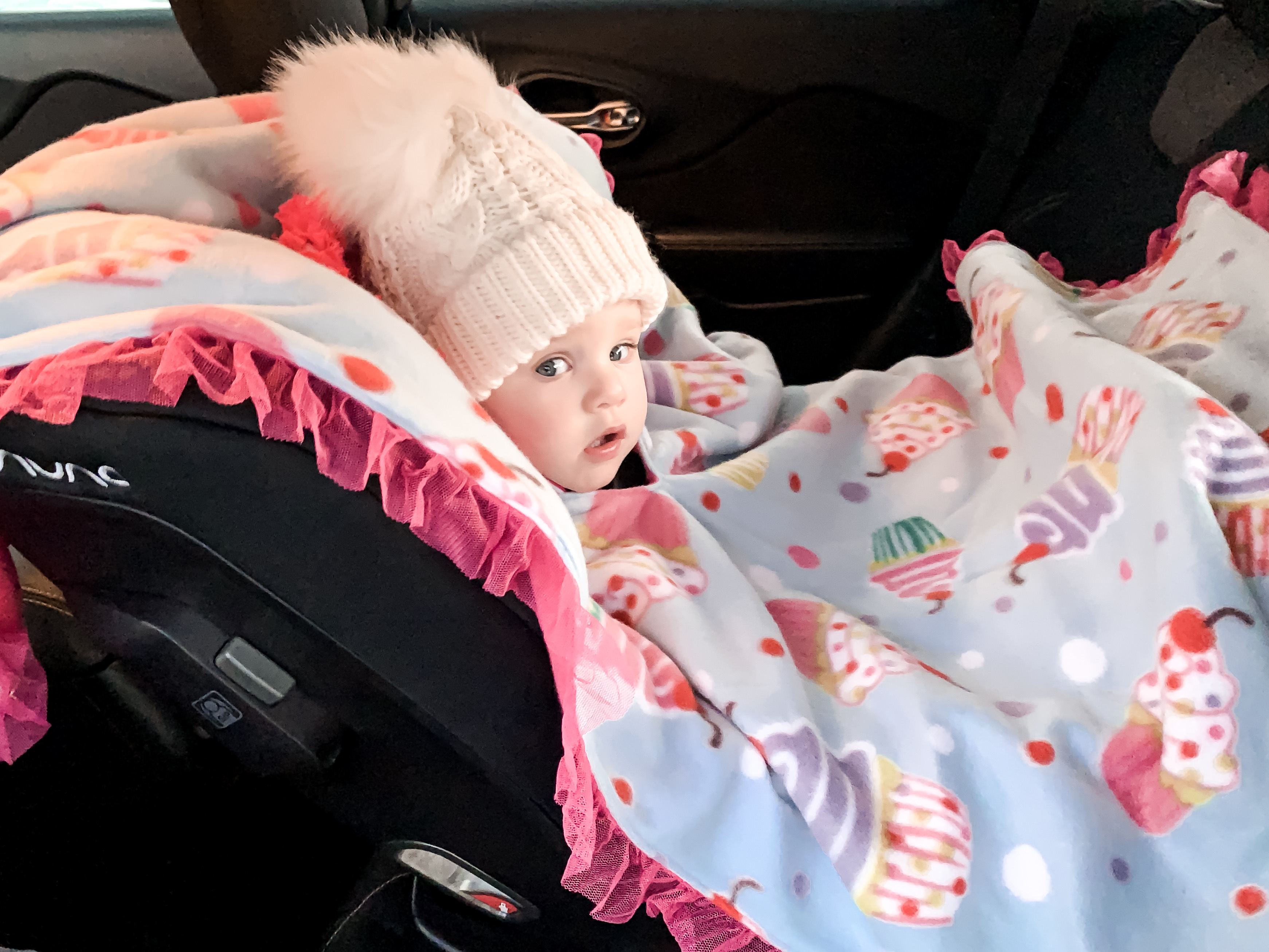 See all photos for current stock Car Seat Ponchos; ready to ship immediately Size 6-12mths