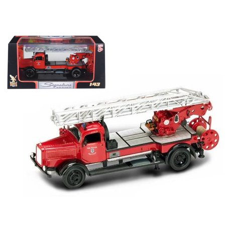 1944 Mercedes Typ L4500F Fire Engine Red 1/43 Diecast Model by Road Signature ()