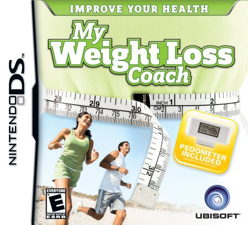 My Weight Loss Coach, Ubisoft, NintendoDS, 008888164104