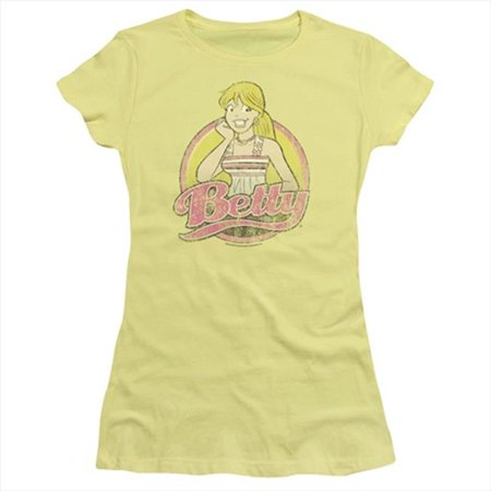 Distressed Banana (Archie Comics Betty Distressed Officially Licensed Juniors T Shirt )