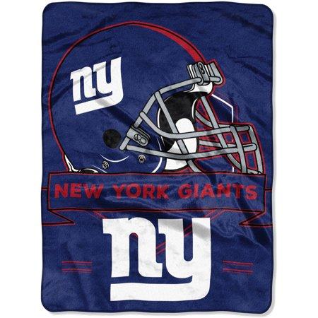 """NFL New York Giants """"Prestige"""" 60"""" x 80"""" Raschel Throw by"""