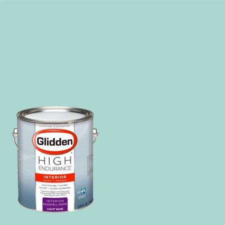 Glidden High Endurance, Interior Paint and Primer, Washed Teal, # 50GG - Teal Paint