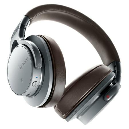 7b59555e777 Sony MDR-1ABT/S Hi-Res, Bluetooth Stereo Headphones - Walmart.com