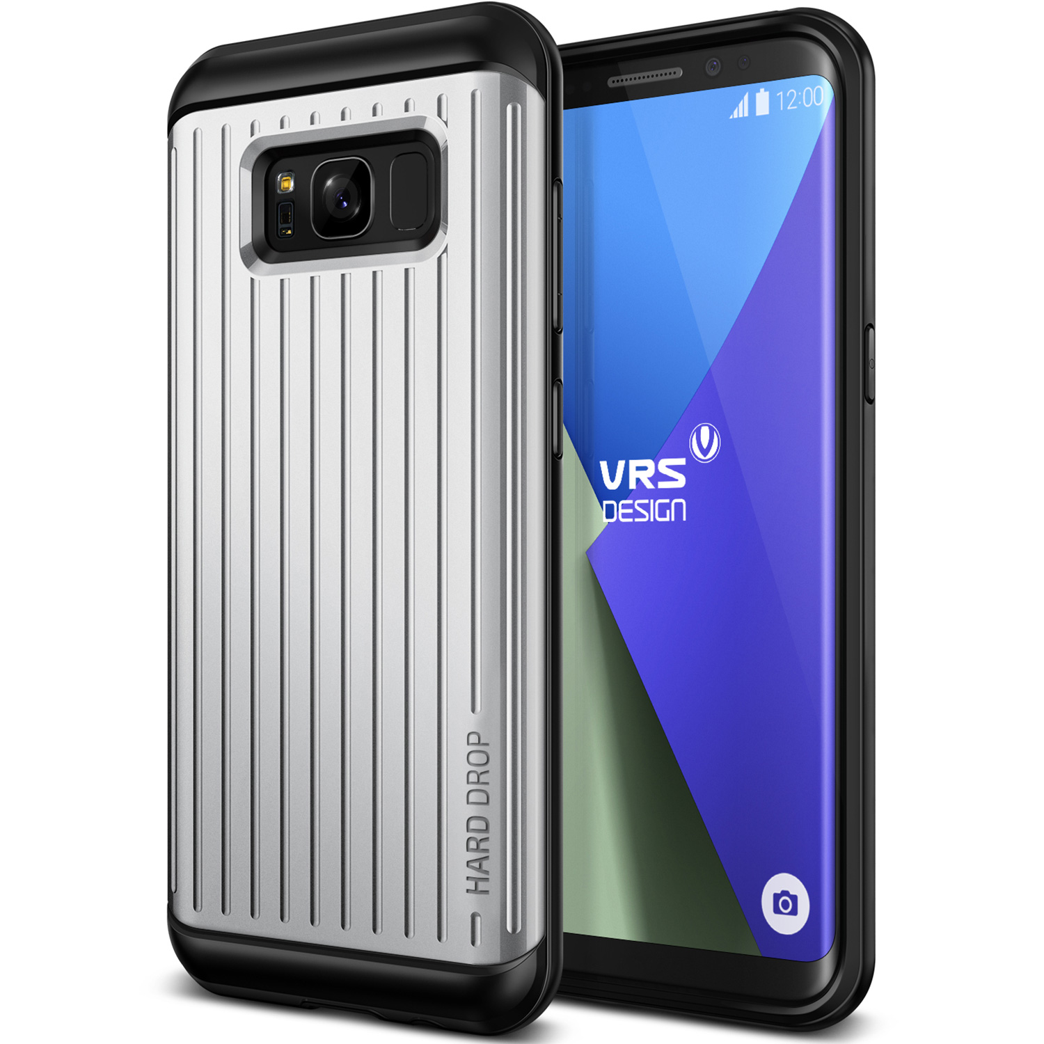 Samsung Galaxy S8 Plus Case Cover | Rugged Protection with Ultra Grip | VRS Design Thor Waved for Samsung Galaxy S8 Plus