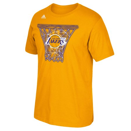 Los Angeles Lakers Adidas Nba   Net Web   Mens Short Sleeve T Shirt