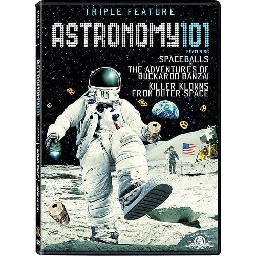 Astronomy 101 Gift Set: Spaceballs / The Adventures Of Buckaroo Banzai / Killer Klowns From Outer Space