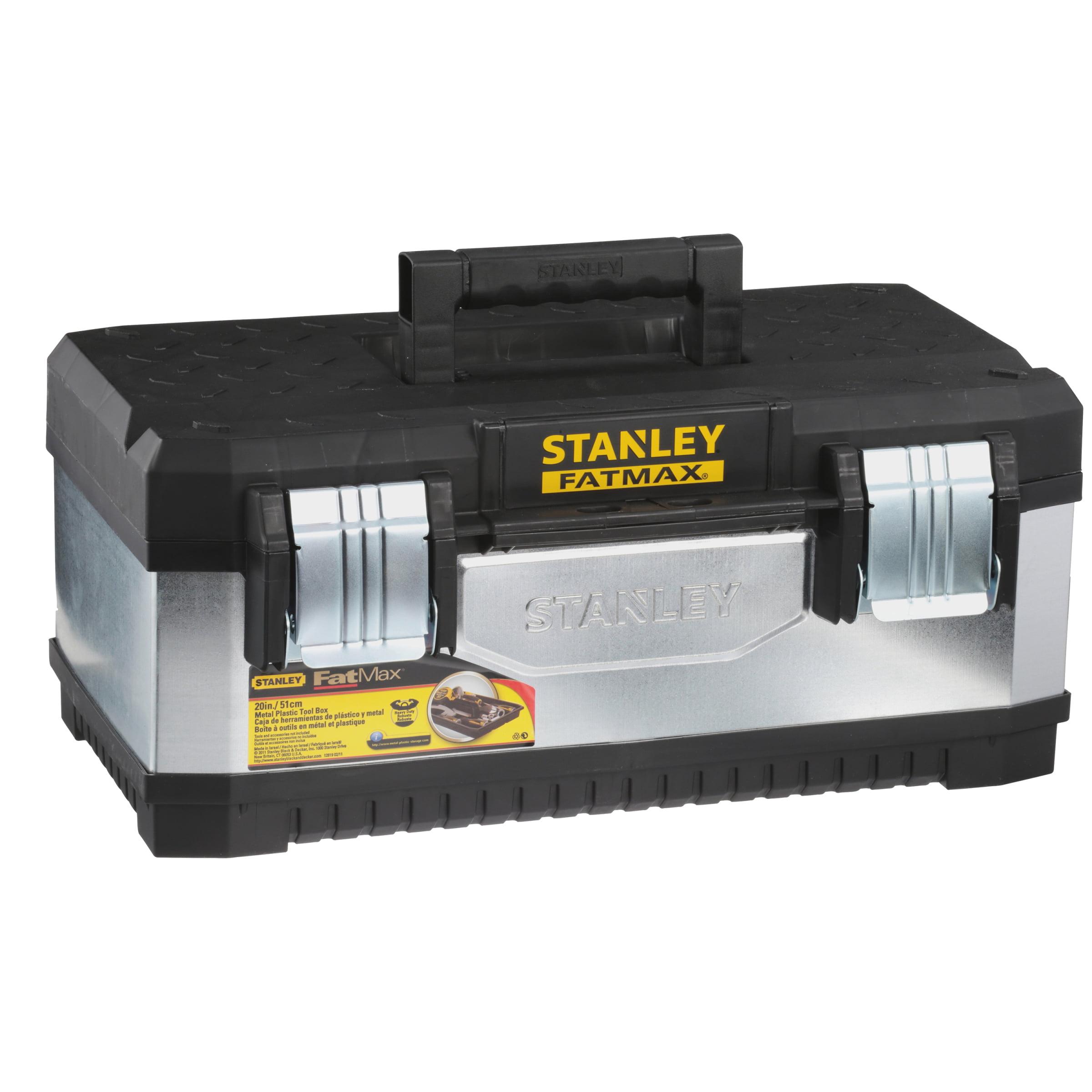 "Stanley Storage FMST20061 20"" Metal & Plastic Tool Box by Stanley Hand Tools"