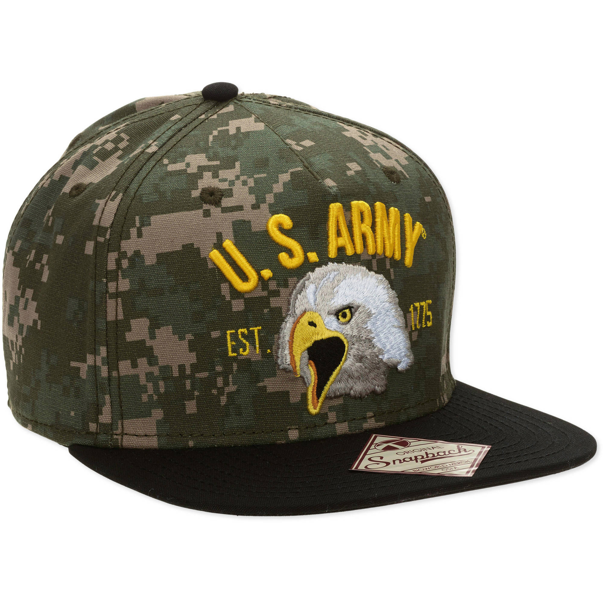 US Army Eagle Snapback Men's Hat