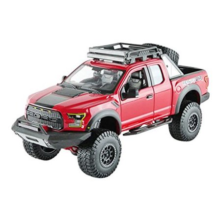 2017 Ford F-150 Raptor Pickup Truck Off Road Kings Diecast Model Car for 1-24 Scale,