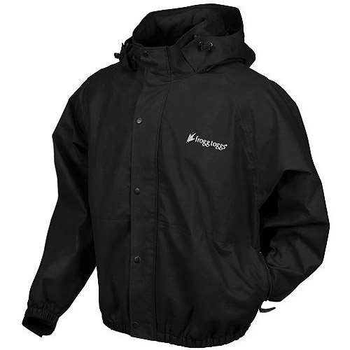 Frogg Toggs Pro Action Jacket, Black