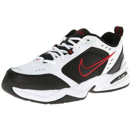 Nike 415445-101_8.5 Men's NIKE AIR MONARCH IV RUNNING SHOES (WHITE/BLACK/VARSITY RED)