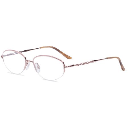 Sophia Loren Womens Prescription Glasses, M201 Rose Gold - Walmart.com