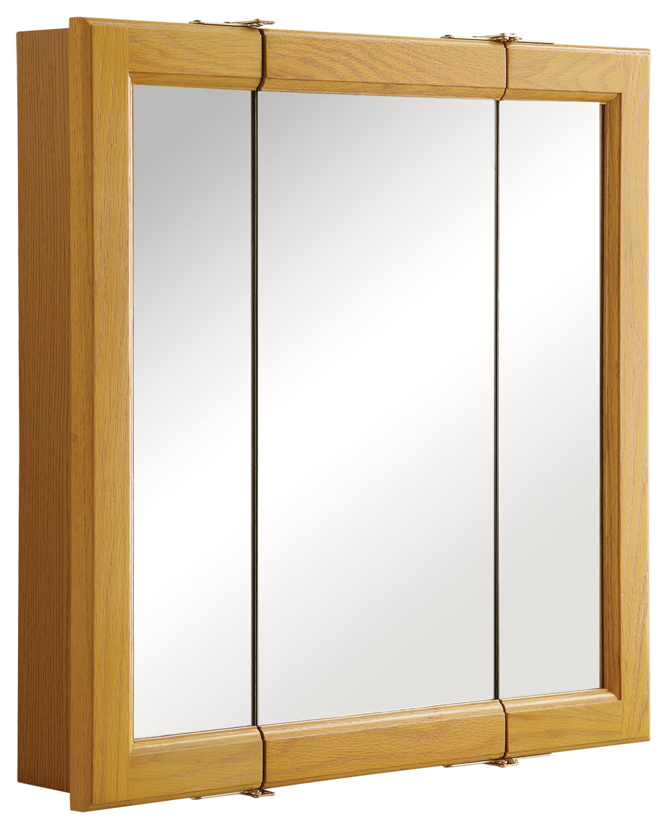 Design House 545277 Claremont Tri-View Medicine Cabinet Mirror 24\ by Design House