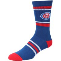 Chicago Cubs Stripe Crew Socks - Royal