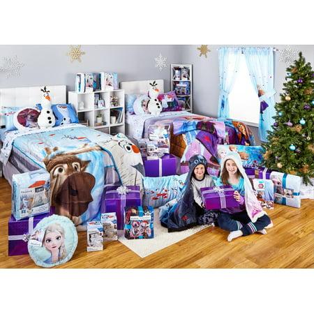 Frozen 2 Sheet Set, Kids Bedding, 3-Piece Twin Size