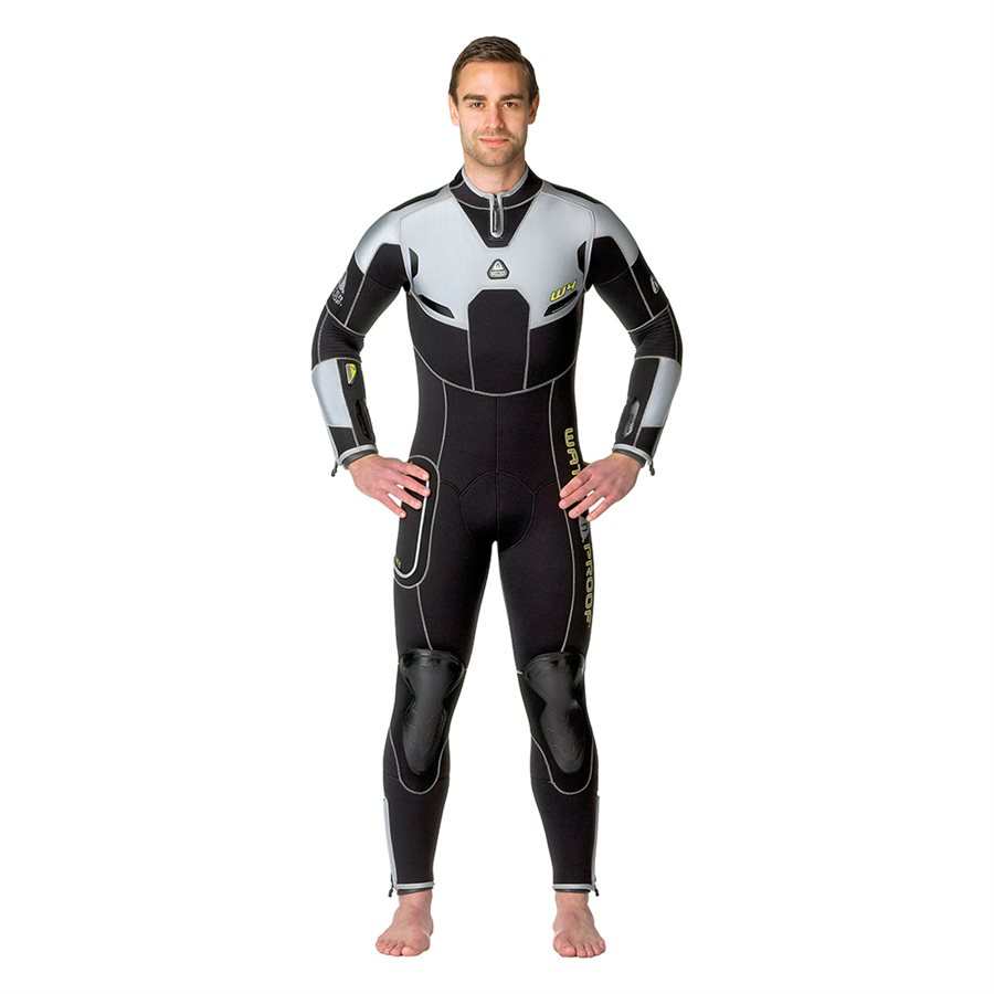 Waterproof Men's W4 7mm back zip Full Wetsuit