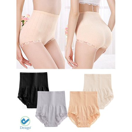 f41c629ea6e Deago - Deago Hot Sale Women High Waist Shapewear Body Tummy Control Slim Shaper  Panty Girdle Underwear Briefs - Walmart.com
