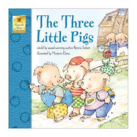 Three Little Pigs (Paperback) Sad Little Pig