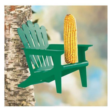 Adirondack Squirrel - BELLE FLEUR Adirondack Chair Squirrel Feeder Mint Green