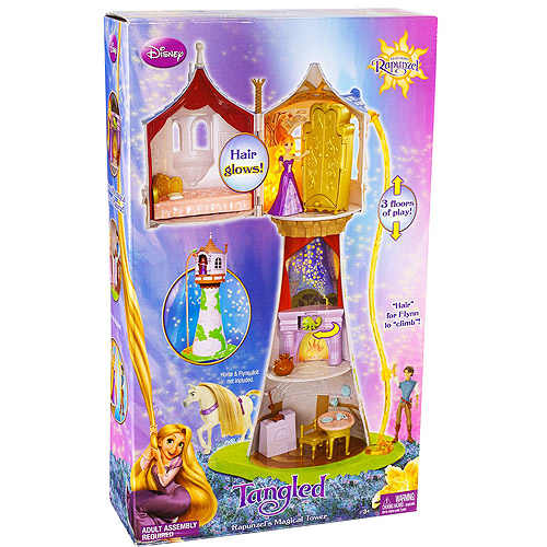 Disney Tangled Rapunzel's Magical Tower Play Set