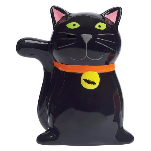 Boston Warehouse Witchs Brew Cat Scrubby Holder