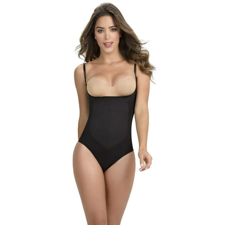Open Bust Thong (ShapEager Light Shapewear Thermal Thong Open Bust Fajas)