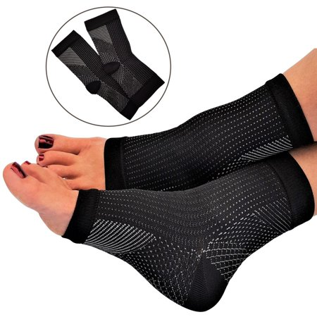 1 Pair Unisex Plantar Fasciitis Compression Socks Foot Ankle Sleeve Anti Fatigue Swelling Relief Socks Health Women & Men