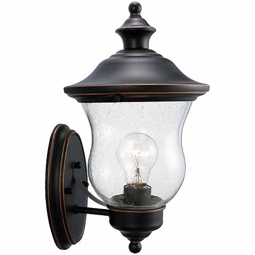 "Design House 505362 Highland Outdoor Uplight, 7.5"" x 13"", Oil Rubbed Bronze Finish"