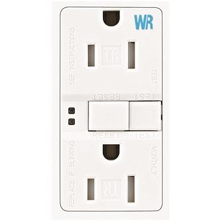 Wiring TWRSGF15W 15 Amp GFCI Self-Test Duplex Receptacle