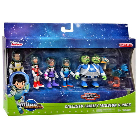 Callisto Family Mission Action Figure 6-Pack Miles From Tomorrowland - Miles From Tomorrowland