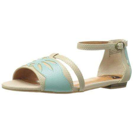 BC Footwear Women's Causin A Ruckus Sandal,Sand/Aqua,7 M US