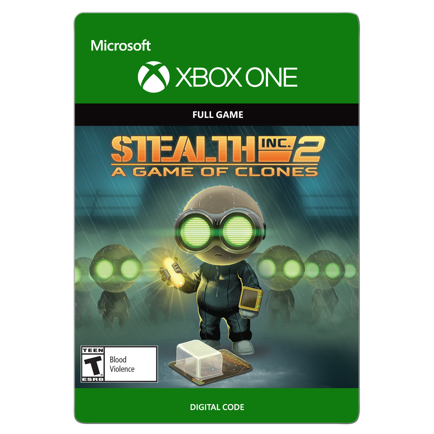 Xbox One Stealth Inc 2: A Game of Clones (email delivery)