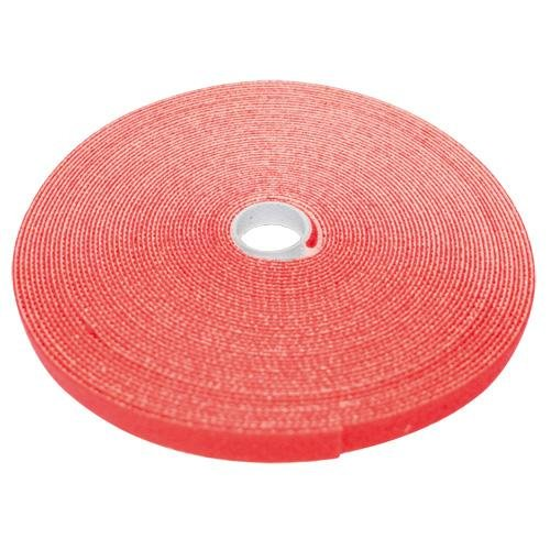 Eclipse MS-V375-RD Hook and Loop Tape 3/4 in Wide Red 50 Ft.