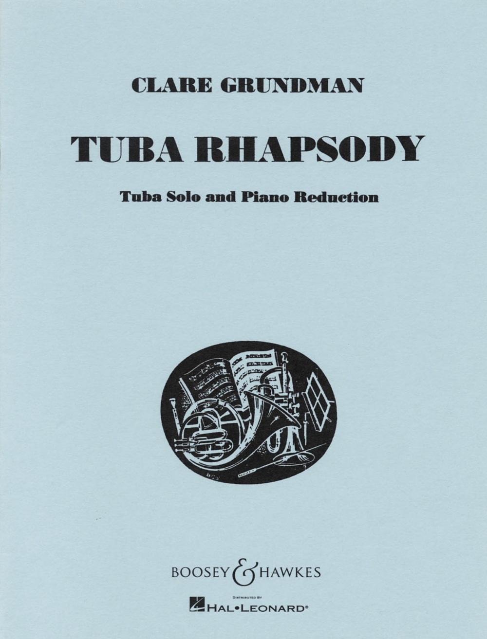 Boosey and Hawkes Tuba Rhapsody (for Tuba and Piano Reduction) Boosey & Hawkes Chamber... by Boosey and Hawkes