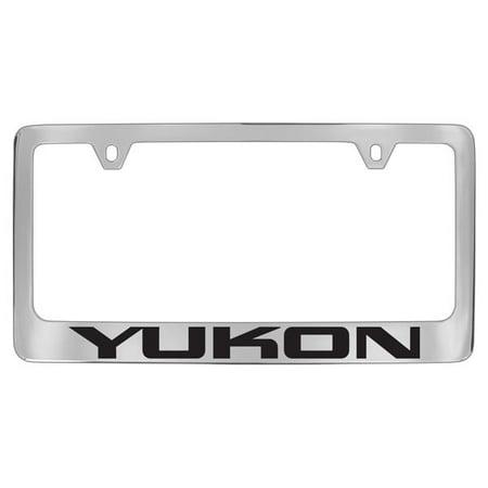 GMC Yukon Chrome Plated Metal License Plate Frame Holder - Walmart.com