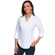 Scully Western Shirt Womens Long Sleeve Floral Soutache PSL-063