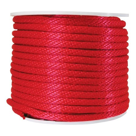 Wellington Derby Rope Poly 450 Lb. Red 5/8