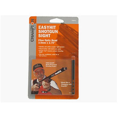 Champion Traps and Targets Easy Hit Shotgun Sight 3mm, Red,
