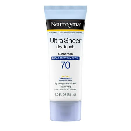 Ultra Sheer Nightclub Halloween (Neutrogena Ultra Sheer Dry-Touch Water Resistant Sunscreen SPF 70, 3 fl.)