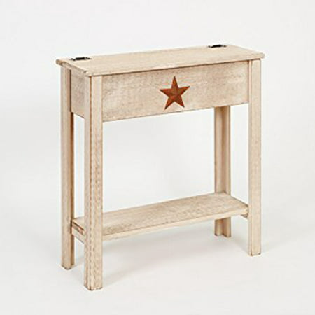 American Country Furniture (Furniture Barn USA™ Primitive Rustic Country Treasure Box Table )
